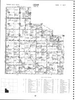 Code RE - Cedar Township - East, Mitchell County 1977